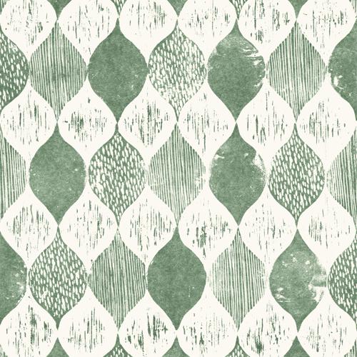 ME1567 York Wallcoverings Joanna Gaines Magnolia Home 2 Wood Block Print Wallpaper Green