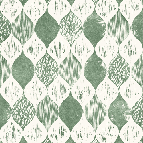 ME1567 York Wallcoverings Joanna Gaines Magnolia Home 2 Wood Block Print Wallpaper Green