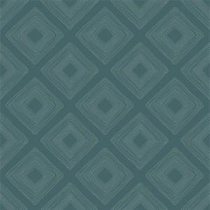 ME1577 York Wallcoverings Joanna Gaines Magnolia Home 2 Diamond Sketch Wallpaper Blue