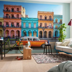 Brewster Wallcoverings Komar Into Illusions 2 Havana Mural Room Setting