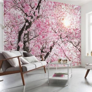 Brewster Wallcoverings Komar Into Illusions 2 Bloom Mural Room Setting