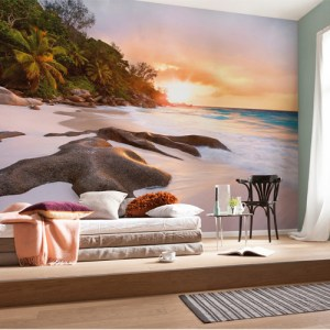 Brewster Wallcoverings Komar Into Illusions 2 Nature Mural Room Setting