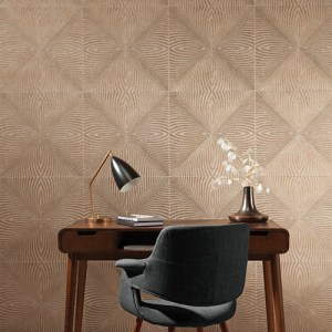 York Wallcoverings Mid Century Optic Wallpaper Room Setting
