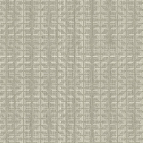 ZN51803 Seabrook Wallcoverings Texture Anthology Etten Geometric Wallpaper Gray