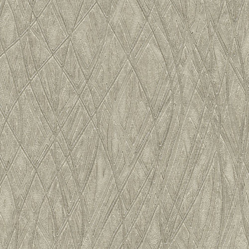 2758-8011 Brewster Wallcovering Warner Textures and Weaves Allegro Embossed Wallpaper Silver