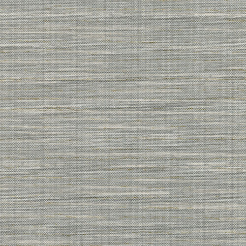 2758-8016 Brewster Wallcovering Warner Textures and Weaves Bay Ridge Faux Grasscloth Wallpaper Grey