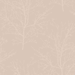 UK11501 Seabrook Wallcoverings Pear Tree Studios Mica Glass Bead Tree Wallpaper Pink