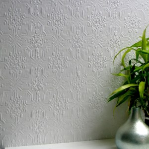 437-RD125 Brewster Wallcovering Anaglypta XII Berkeley Paintable Wallpaper