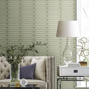 CP1236 York Wallcovering Candice Olson Breathless Pavilion Wallpaper Room Setting