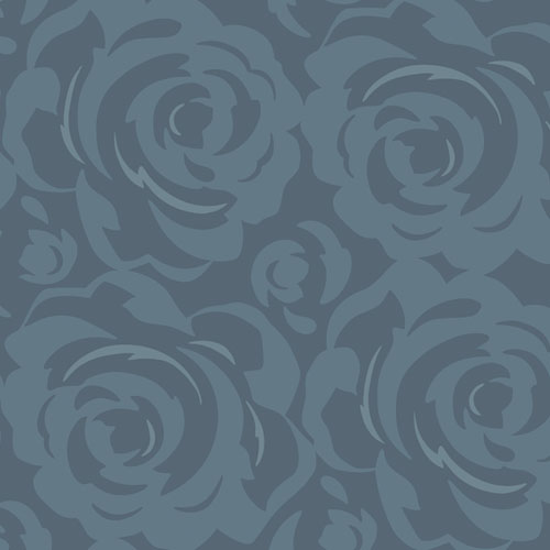 CP1244 York Wallcovering Candice Olson Breathless Lavish Wallpaper Navy