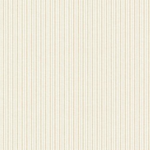 ME1563 York Wallcoverings Joanna Gaines Magnolia Home 2 French Ticking Stripe Wallpaper Beige