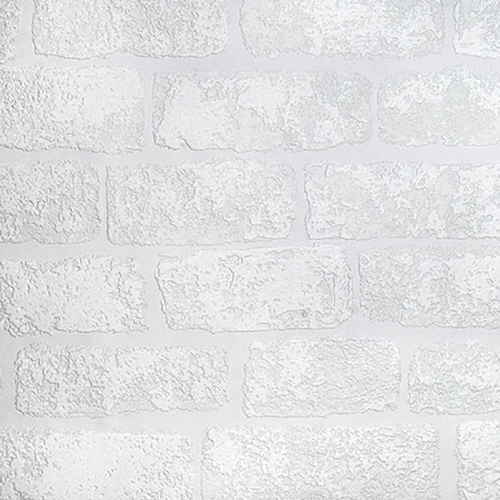 RD812 Brewster Wallcovering Anaglypta XII Lincolnshire Brick Paintable Wallpaper