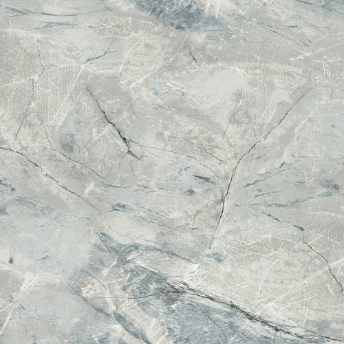WF36312 Patton Wallcovering Wall Finishes Faux Marble Wallpaper Blue