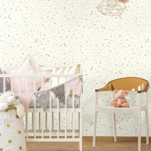 Twinkle Little Star Peel and Stick Wallpaper