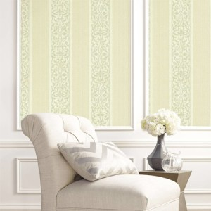BM61701 Wallquest Wallcovering Balmoral Classically Decorated Stripe Wallpaper Room Setting