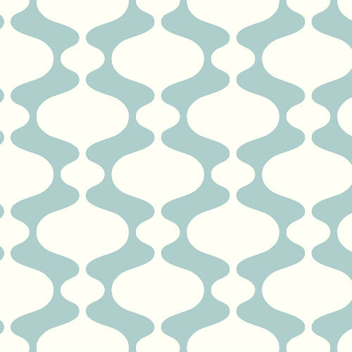 2782-24543 Brewster Wallcovering A Street Prints Habitat Emilio Retro Wallpaper Turquoise