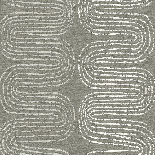 2793-24740 Brewster Wallcovering A Street Prints Celadon Zephyr Abstract Stripe Wallpaper Brown