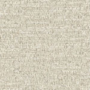 2767-23768 Brewster Wallcovering Techniques and Finishes 3 Burl Small Cork Wallpaper White