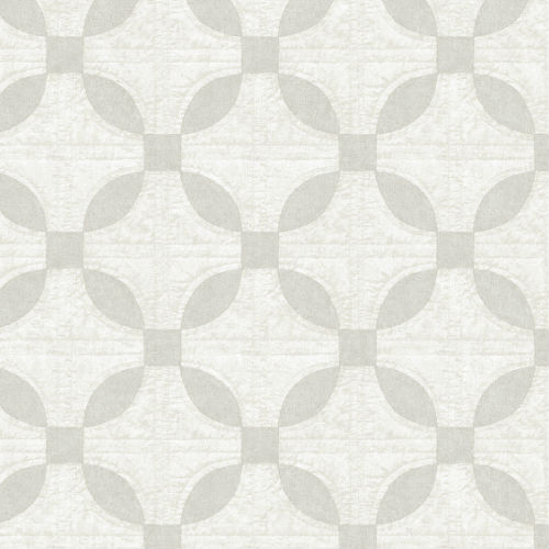 3115-12473 Brewster Wallcovering Chesapeake Farmhouse Justice Quilt Wallpaper Light Grey