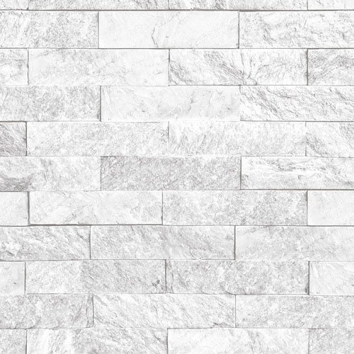 CK36625 Patton Wallcoverings Creative Kitchens Slim Stacked Stone Wallpaper Grey