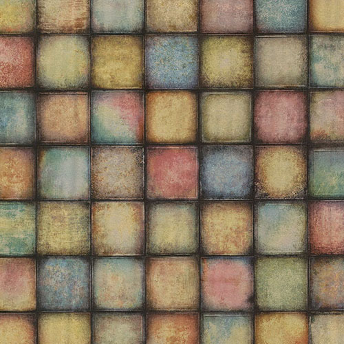 2766-24080 Brewster Wallcovering Kitchen and Bath Essentials Soucy Tiles Wallpaper Multicolor