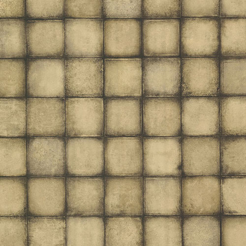2766-24083 Brewster Wallcovering Kitchen and Bath Essentials Soucy Tiles Wallpaper Gold