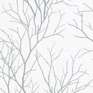 2773-455922 Brewster Wallcovering Advantage Neutral Black White Zola Tree Branch Wallpaper