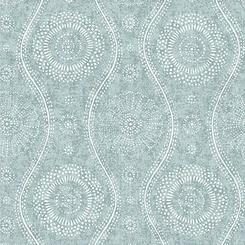 2785-24803 Brewster Wallcoverings A Street Prints Sarah Richardson Signature Painterly Wallpaper Aqua