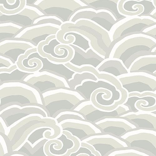 2785-24842 Brewster Wallcovering A Street Prints Sarah Richardson Signature Decowave Wallpaper Platinum
