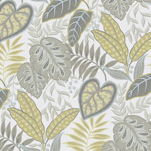 2875-87423 Brewster Wallcovering A Street Prints Sarah Richardson Signature Jasmine Botanical Wallpaper Citrine