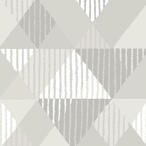 2785-24855 Brewster Wallcovering A Street Prints Sarah Richardson Signature Mod Peaks Wallpaper Platinum