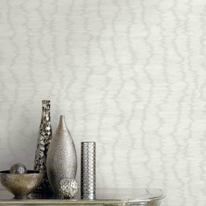 GC33003 Seabrook Wallcovering Collins and Company Monaco 2 Flame Stitch Watermark Wallpaper Room Setting