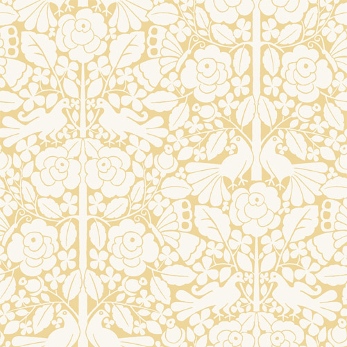 MK1162 York Wallcoverings Joanna Gaines Magnolia Home 3 Artful Prints and Patterns Fairy Tales Wallpaper Yellow