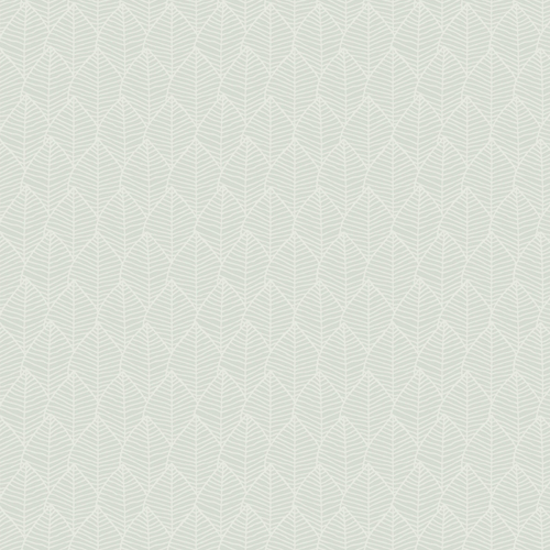 SO2481 York Wallcovering Candice Olson Tranquil Meditation Leaf Wallpaper Spa Blue