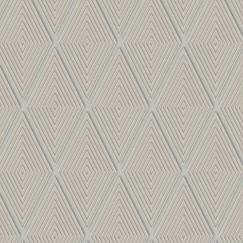 DI4764 York Wallcovering Dimensional Artistry Conduit Diamond Wallpaper Taupe