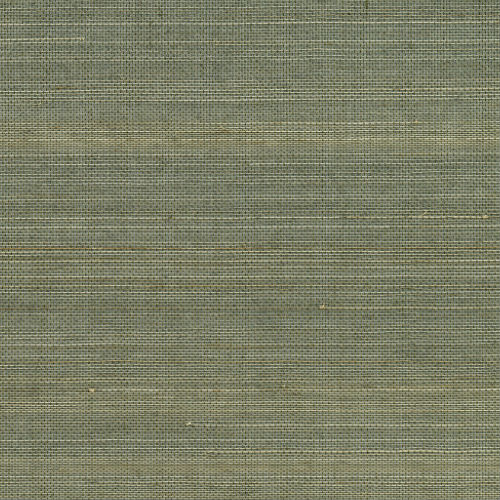 2732-54752 Brewster Wallcovering Kenneth James Canton Road Grasscloth Salisbury Grasscloth Wallpaper Grey