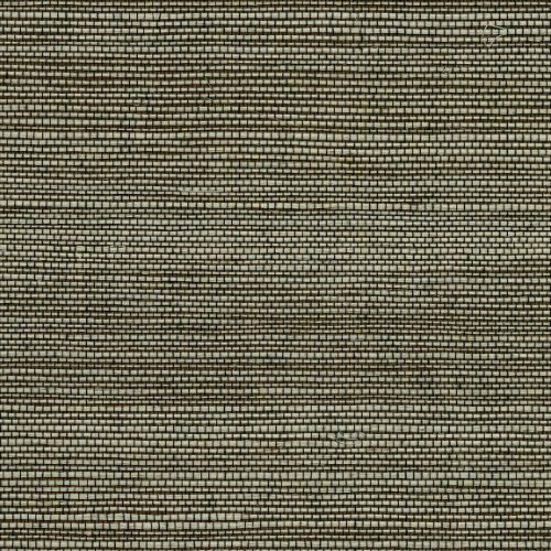 2732-65409 Brewster Wallcovering Kenneth James Canton Road Grasscloth Yunnan Grasscloth Wallpaper Brown