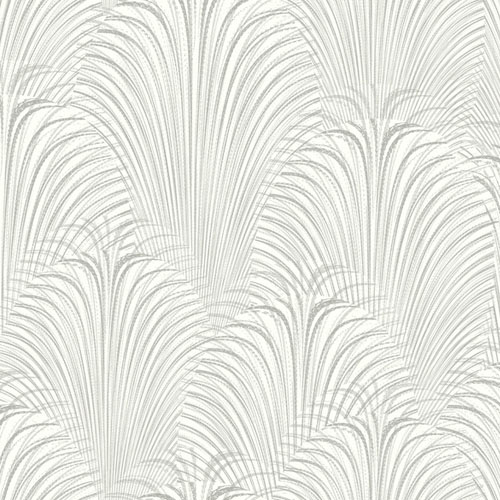 OL2764 York Wallcovering Candice Olson Journey Deco Fountain Wallpaper White