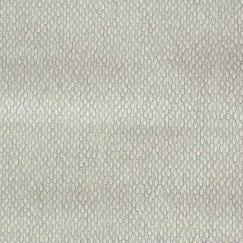 Y6231103 York Wallcovering Antonina Vella Natural Opalescence Stretched Hexagons Wallpaper Light Grey