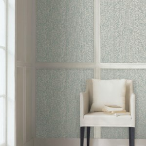 COD0504N York Wallcovering Candice Olson Terrain High Performance Palm Grove Wallpaper Sage Room Setting