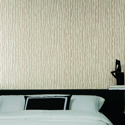 TL6000N York Wallcovering Design Digest Tear Sheet Wallpaper Tan Room Setting