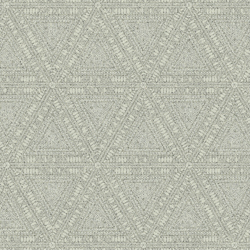 NR1509 York Wallcovering Norlander Norse Tribal Wallpaper Grey