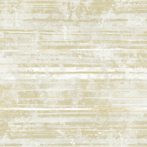 2838-IH2251 Brewster Wallcovering Decorline Vista Makayla Distressed Stripe Wallpaper Light Yellow