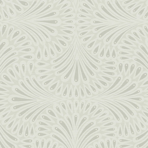 CA1504 York Wallcovering Antonina Vella Deco Cabaret Wallpaper Grey