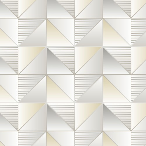 GX37631 Patton Wallcovering Norwall GeometriX Cubist Wallpaper Yellow