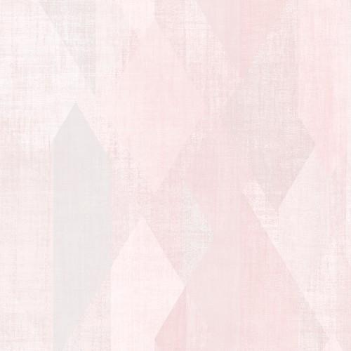 GX37636 Patton Wallcovering Norwall GeometriX Glass Shards Wallpaper Pink