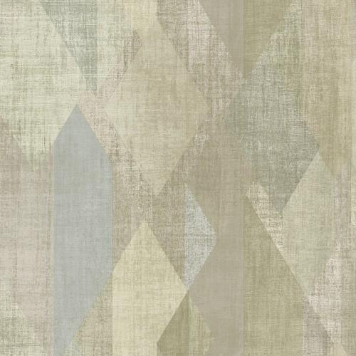 GX37639 Patton Wallcovering Norwall GeometriX Glass Shards Wallpaper Olive