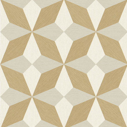 2908-25302 Brewster Wallcovering A Street Prints Alchemy Valiant Faux Grasscloth Geometric Wallpaper Beige