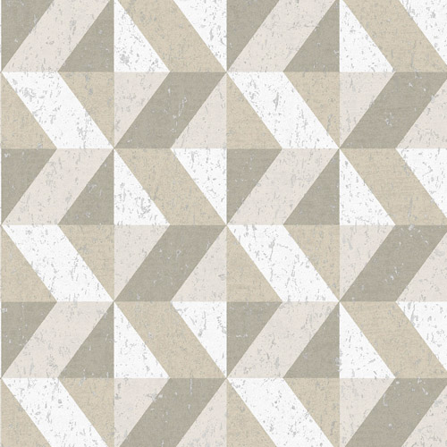 2908-25313 Brewster Wallcovering A Street Prints Alchemy Cerium Concrete Geometric Wallpaper Neutral