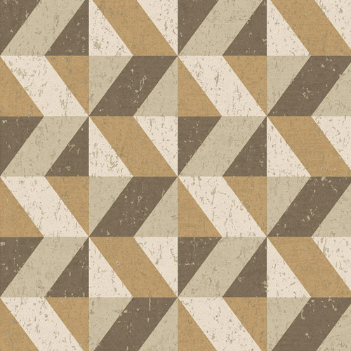 2908-25315 Brewster Wallcovering A Street Prints Alchemy Cerium Concrete Geometric Wallpaper Light Brown